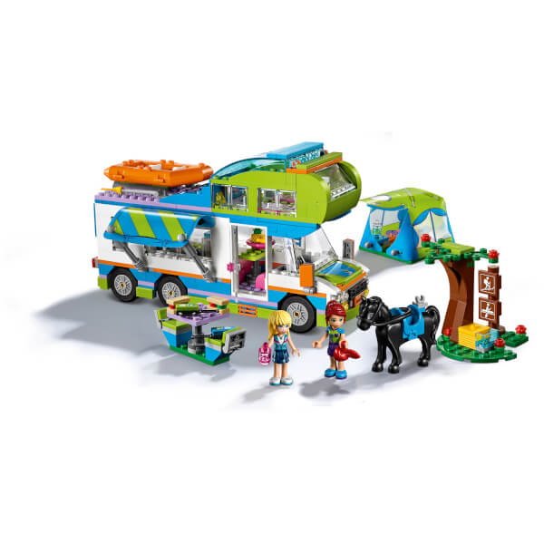 lego friends le camping car de mia 41339 my geek box. Black Bedroom Furniture Sets. Home Design Ideas