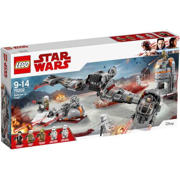 LEGO Star Wars The Last Jedi: Defense of Crait (75202)