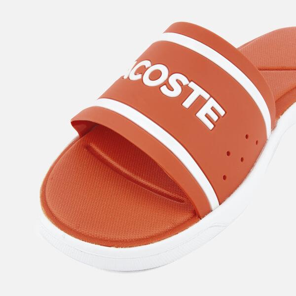c008944c5 Lacoste Women s L.30 118 1 Slide Sandals - Pink White  Image 6