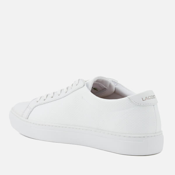 5a0d08165dd45f Lacoste Men s L.12.12 115 Leather Cupsole Trainers - White Mens ...