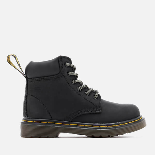 Dr. Martens Kids' Padley I Wyoming Lace Low Boots - Black