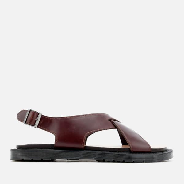 912e0493180 Dr. Martens Women s Abella Analine Sandals - Tan  Image 1