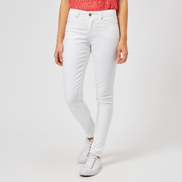 Joules Women's Monroe Skinny Stretch Jeans - Bright White