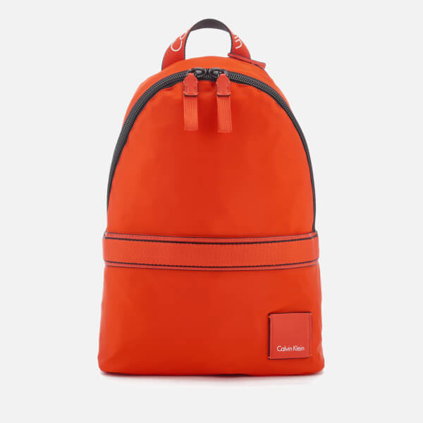 Calvin Klein Women's Fluid Backpack - Burnt Orange