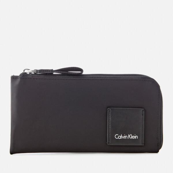 Calvin Klein Women's Fluid Pouch Wallet - Black