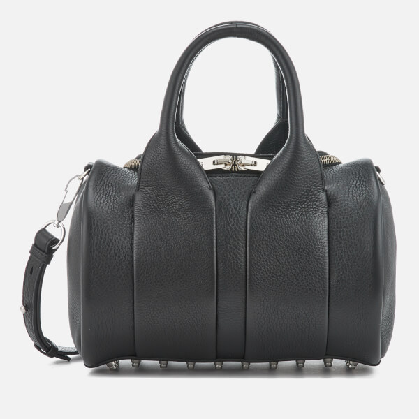 Alexander Wang Women's Rockie Studded Pebble Leather Bag - Black