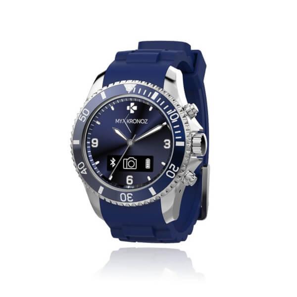 MyKronoz Zeclock Bluetooth Smart Watch - Blue