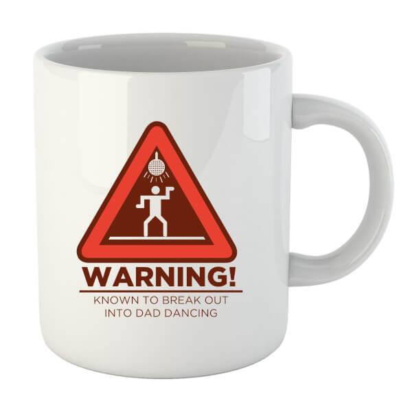 Warning Dad Dancing Mug