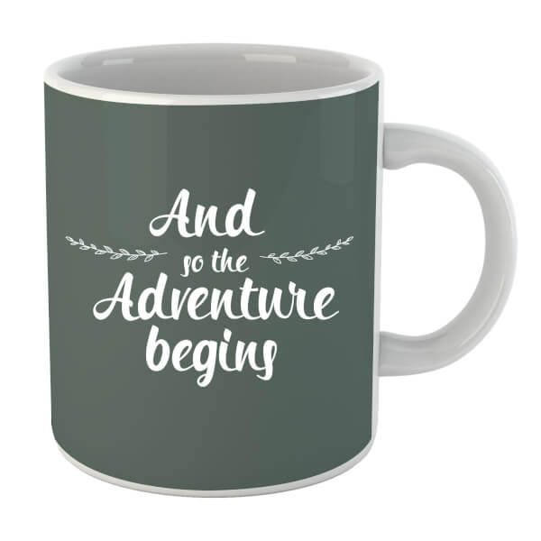 And the Adventure Begins Mug