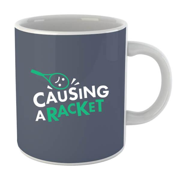 Causing a Racket Mug
