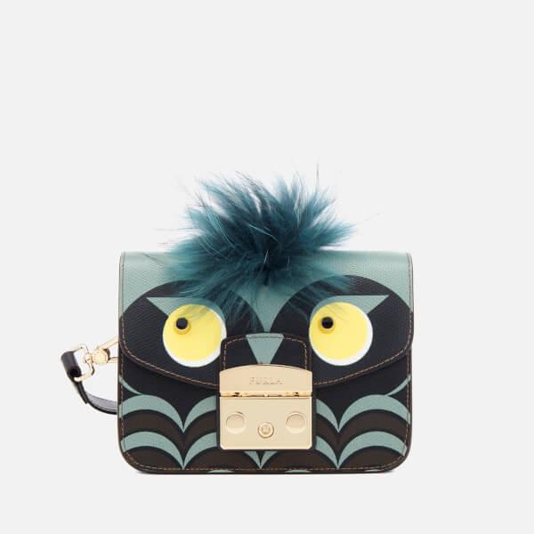 Furla Women's Metropolis Jungle Mini Cross Body Bag - Toni Blue