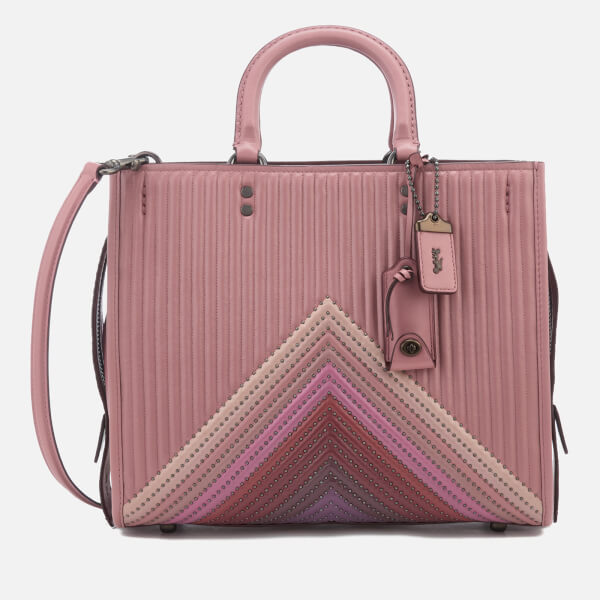 Coach 1941 Women's Rogue Bag Quilted - Dusty Rose Multi