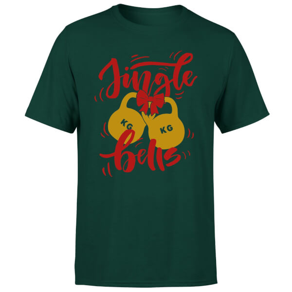 Jingle (Kettle) Bells T-Shirt - Forest Green