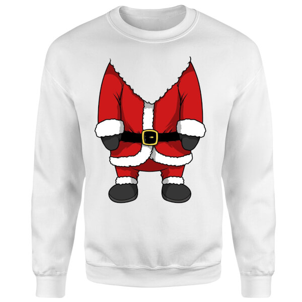 Santa Sweatshirt - White