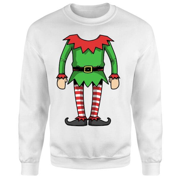 Elf Sweatshirt - White