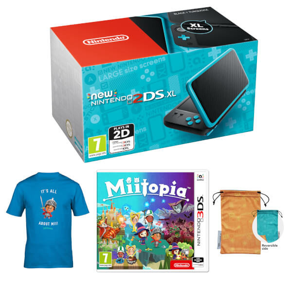 New Nintendo 2DS XL Mii Boy Pack