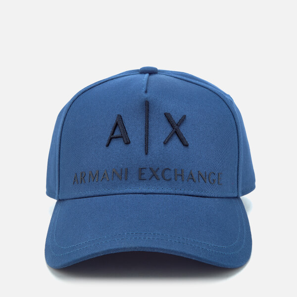 Armani Exchange Men's Logo Cap - Navy Peony