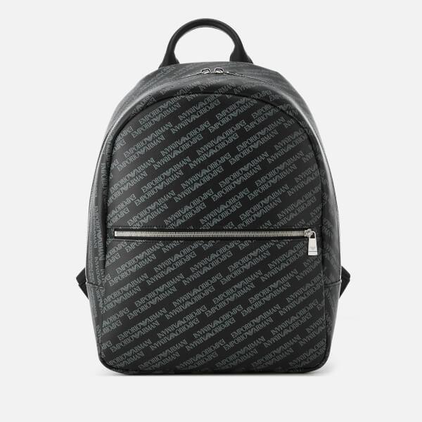 428c991a54fb Emporio Armani Men s Backpack - Lavagna Nero  Image 1