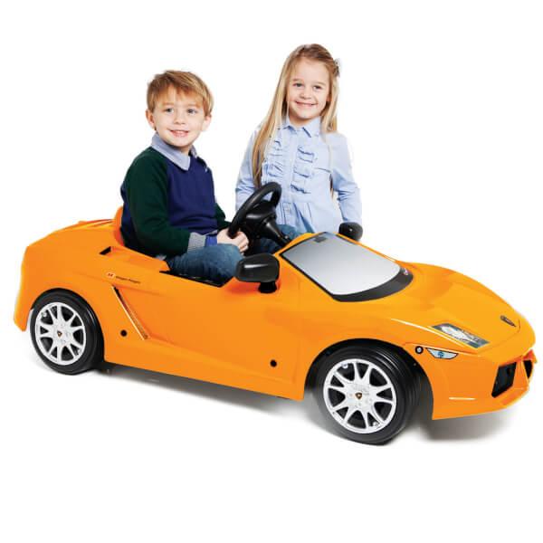 Lamborghini Gallardo Pedal Power Car - Orange Red