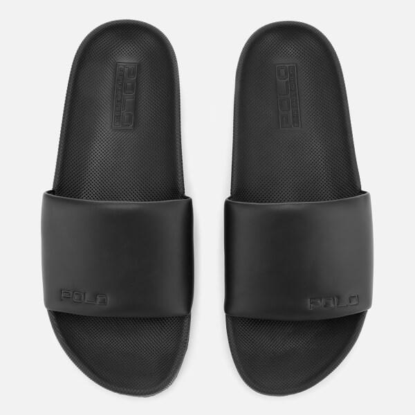 7ca53a9ac43c Polo Ralph Lauren Men s Cayson Slide Sandals - Black  Image 1