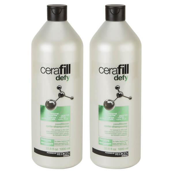 Redken Cerafill Defy Conditioner Duo (2 x 1000ml)