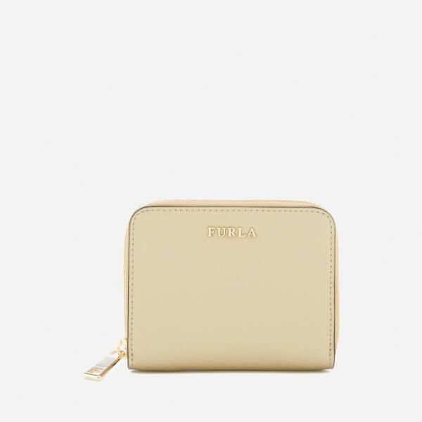 Furla Women's Babylon Small Zip Around Wallet - Gold