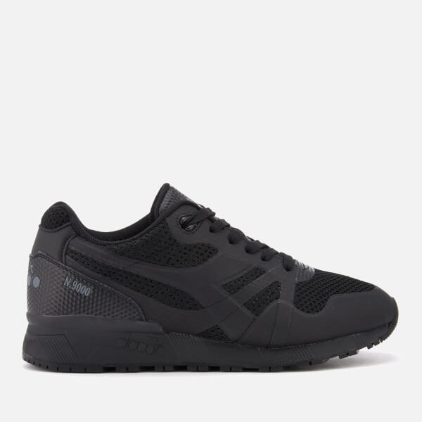 Diadora Men's N9000 Moderna Trainers - Black/Black