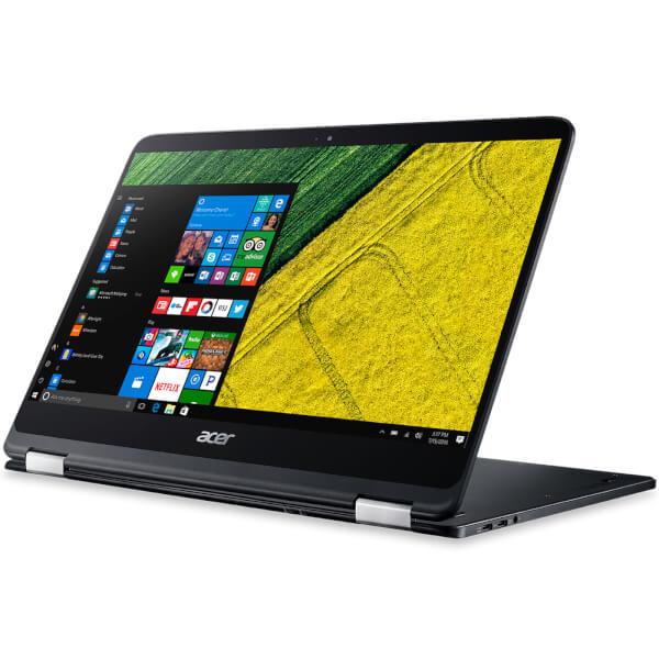 Acer Spin 7 14 Inch Full HD Touchscreen 2-in-1 Laptop (Intel Core i7, 8GB RAM, 256GB SSD, Windows 10 64-Bit) - Black