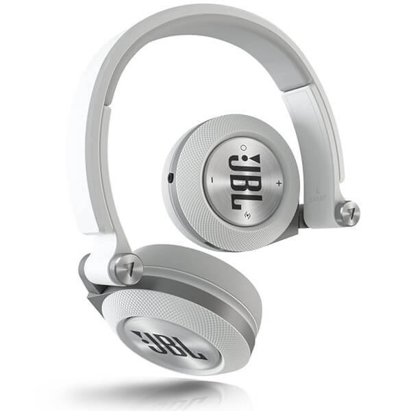 JBL Syncros E40BT Bluetooth On Ear Headphones - White