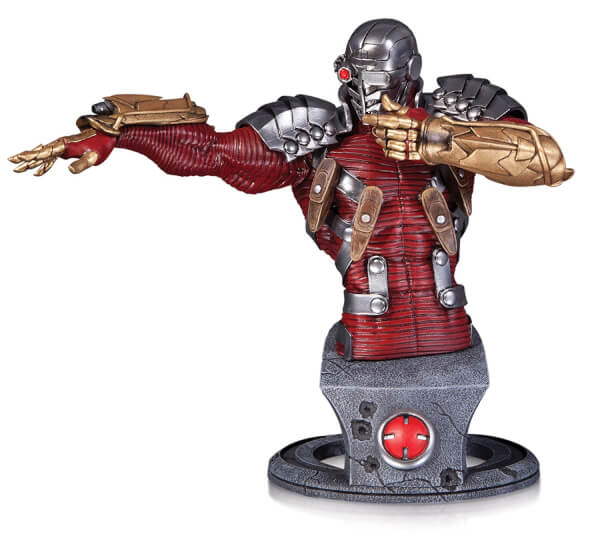 DC Statue Super Villains Deadshot Bust