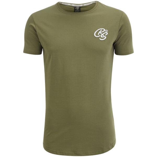 Crosshatch Men's Kintore T-Shirt - Dusty Olive