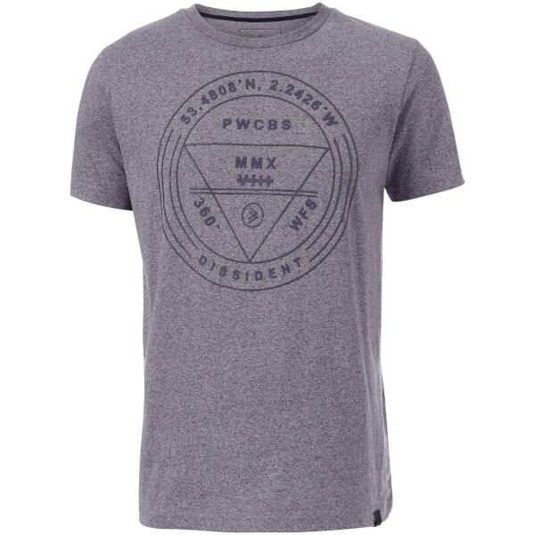 Dissident Men's Gamo T-Shirt - Violet