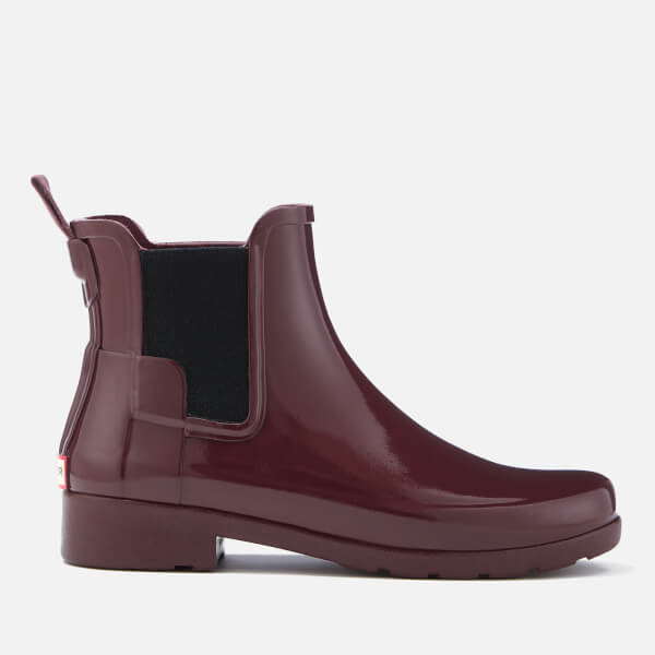 Hunter Women's Original Refined Gloss Chelsea Boots - Dulse