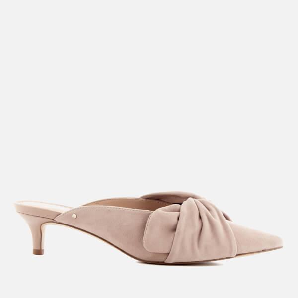 Sam Edelman Women's Laney Suede Pointed Kitten Heels - Blush
