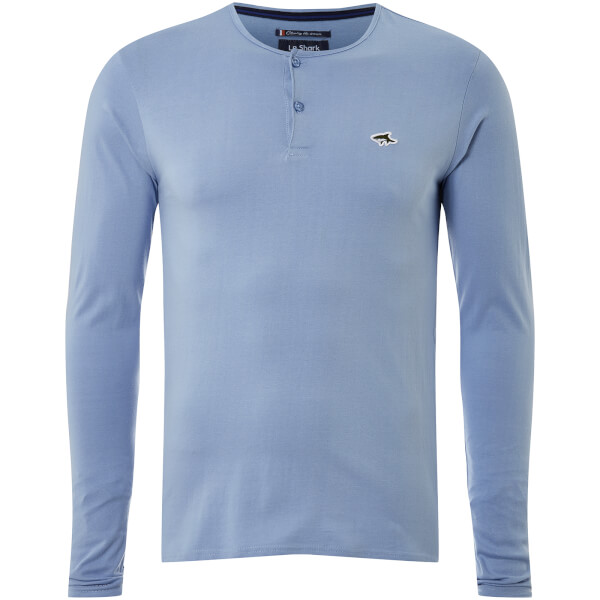 Le Shark Men's Kirkwood Long Sleeve T-Shirt - Placid Blue
