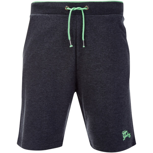 Tokyo Laundry Men's Lawes Sweat Shorts - Charcoal Marl