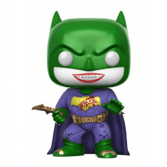 DC Suicide Squad Joker Batman EXC Pop! Vinyl Figure