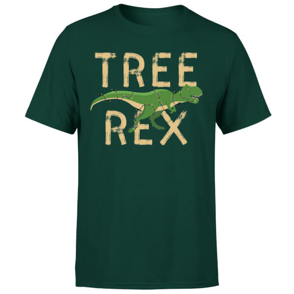 Tree Rex T-Shirt - Forest Green