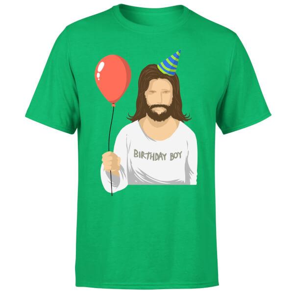 Birthday Boy T-Shirt - Kelly Green
