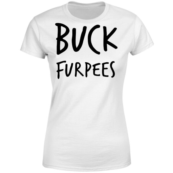 Buck Furpees Women's T-Shirt - White