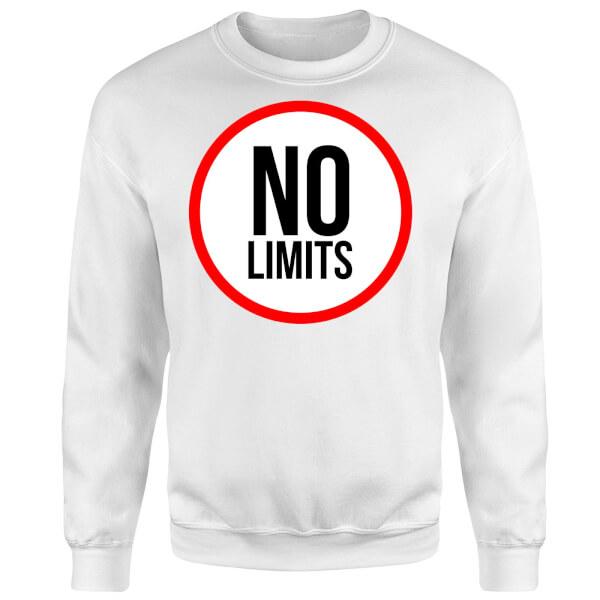 No Limits Sweatshirt - White