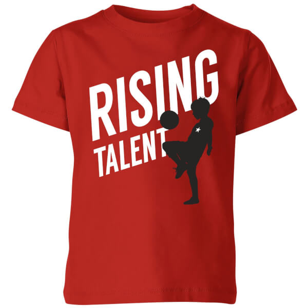 Rising Talent Kids' T-Shirt - Red
