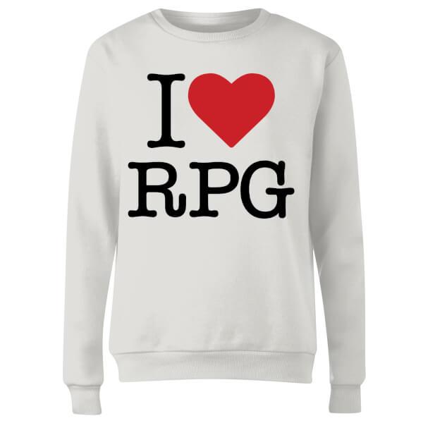 I Love RPG Women's Sweatshirt - White