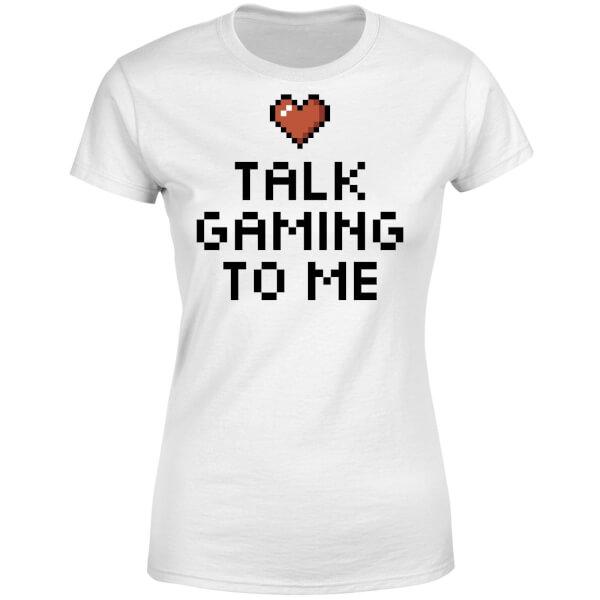 Talk Gaming to Me Women's T-Shirt - White