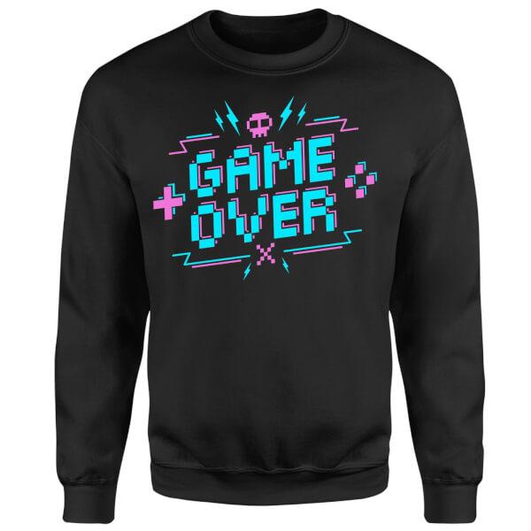 Game Over Gaming Sweatshirt - Black
