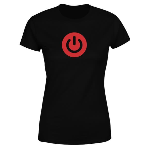 Power On Women's T-Shirt - Black