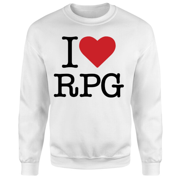 I Love RPG Sweatshirt - White