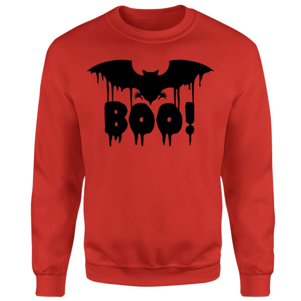 Boo Bat Sweatshirt - Red