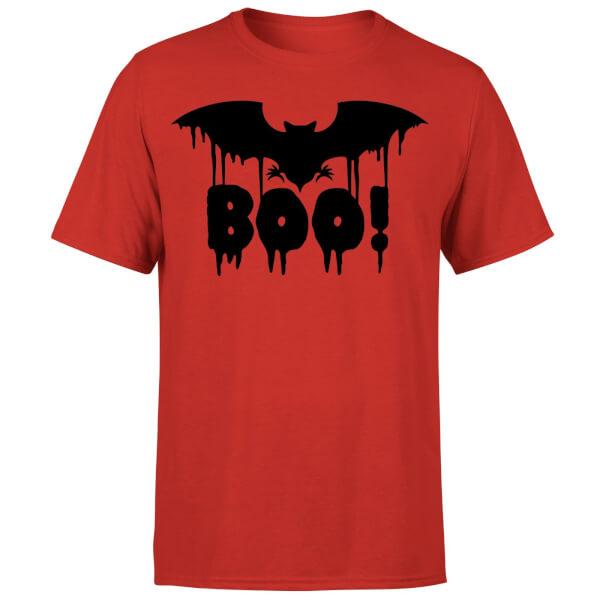 Boo Bat T-Shirt - Red