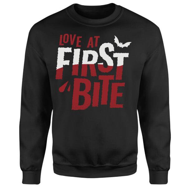 Love at First Bite Sweatshirt - Black